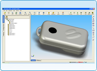 SolidWorks modelling of a keyfob unit